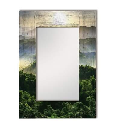 Зеркало настенное Дом Корлеоне Зеленая долина 04-0021-65х80 65 х 80 см, разноцветный