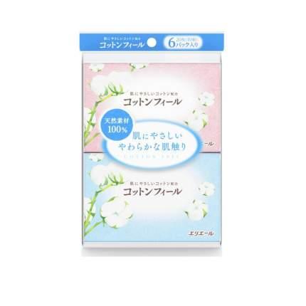 Салфетки Elleair Cotton Feel бумажные платочки 60 штук