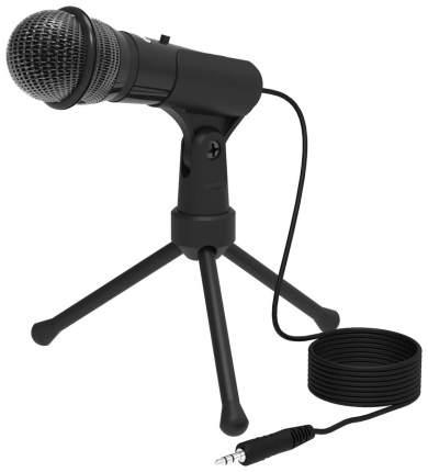 Микрофон Ritmix RDM-120 на подставке, чёрный