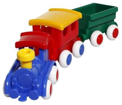 Мини паровозик Viking Toys 1173-син 27 см синий