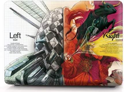 "Чехол для Macbook Pro 15"" i-Blason Cover A1707 painting brain"