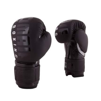 Боксерские перчатки Roomaif RBG-310 черные 10 унций
