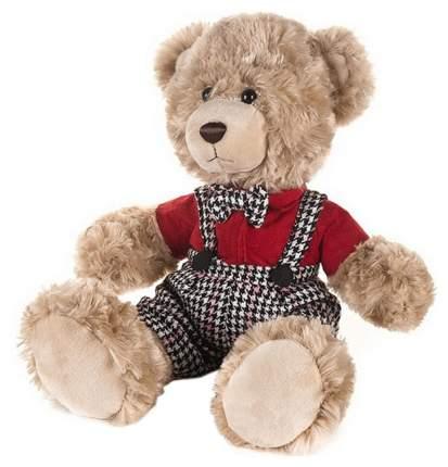 Мягкая игрушка Мишка Ричард в клетчатых штанишках и красной рубашке, 25 см