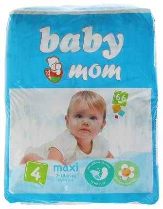 Подгузники Baby Mom, размер Maxi (7-18 кг), 66 штук