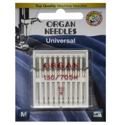Иглы Organ универсальные 10/100 Blister