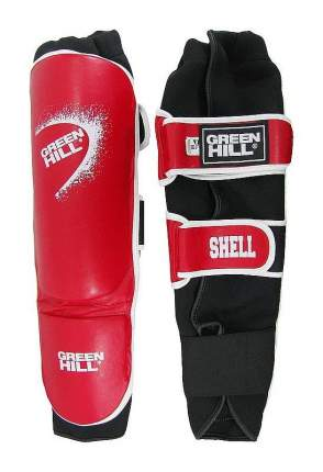 Защита голени и стопы Green Hill Shell, L, Для разного уровня, искусственная кожа
