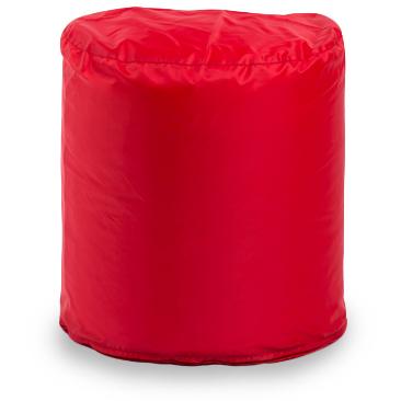 Внешний чехол Пуфик циллиндр  50x45x45, Оксфорд Красный