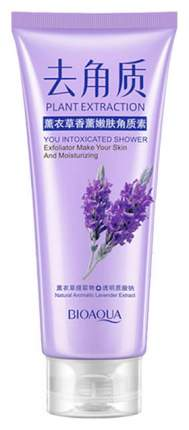 Пилинг для лица BioAqua Plant Extraction You Intoxicated Shower Exfoliator Lavender 120 мл