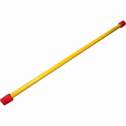 Бодибар ББ-2 120 см желтый/красный 2 кг