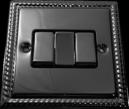 Металлический выключатель BalFour D3032BN