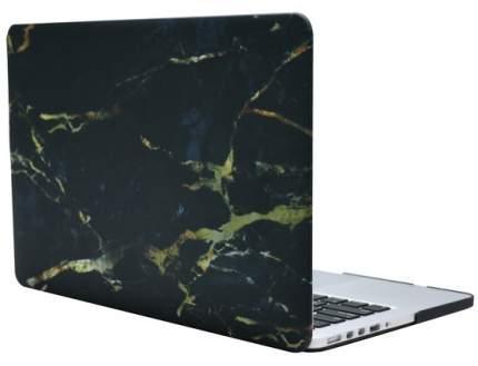 "Чехол для Macbook Air 13"" i-Blason black/gold marble"