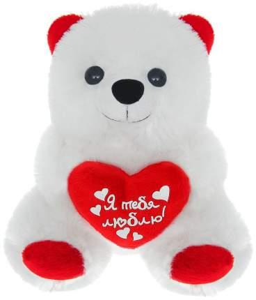 """Мягкая игрушка мишка с сердечком """"Я тебя люблю"""" Sima-Land"""