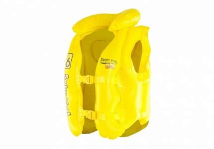 Жилет Bestway надувной с подголовником желтый