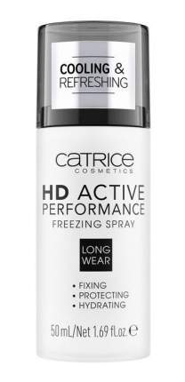 Фиксатор макияжа CATRICE HD Active Performance Freezing Spray 50 мл