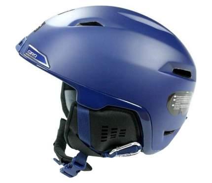Горнолыжный шлем мужской Giro Edit 2017, синий, M