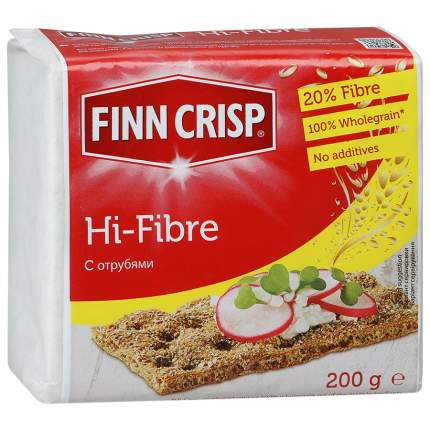 Хлебцы Finn Crisp ржаные с отрубями 200 г
