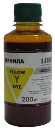 Чернила для струйного принтера Lomond LE08-002Y, желтые