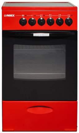 Электрическая плита REEX CSE-54 Rd Красный