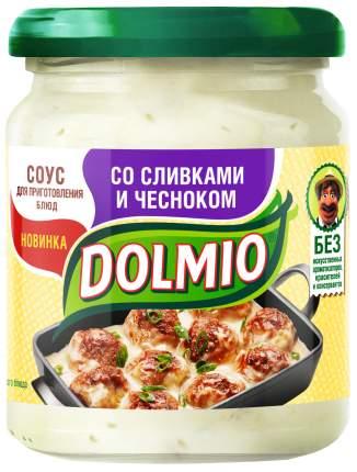 Соус на основе растительных масел Dolmio для приготовления блюд со сливками и чесноком