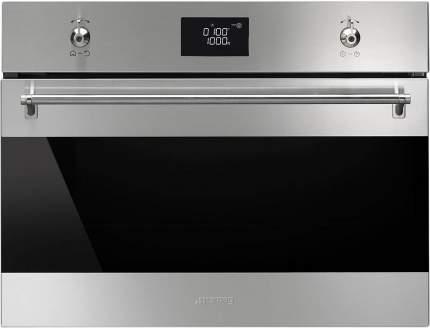 Встраиваемый электрический духовой шкаф Smeg SF4390MCX Silver