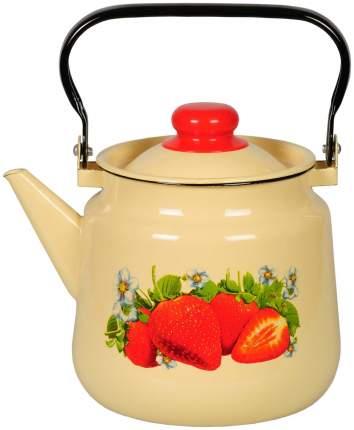 Чайник для плиты СТАЛЬЭМАЛЬ 1С26/С 3.5 л