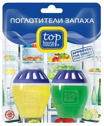 TOP HOUSE Поглотители запаха (лимон и лайм)
