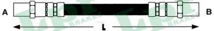 Шланг тормозной системы Lpr 6T46797 задний