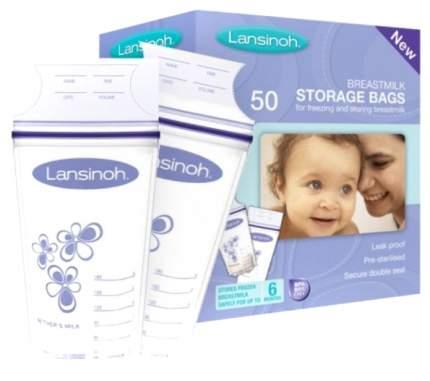 Пакеты для заморозки грудного молока Lansinoh 50 штук