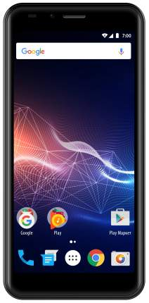 Смартфон Vertex Impress Click 8Gb Black