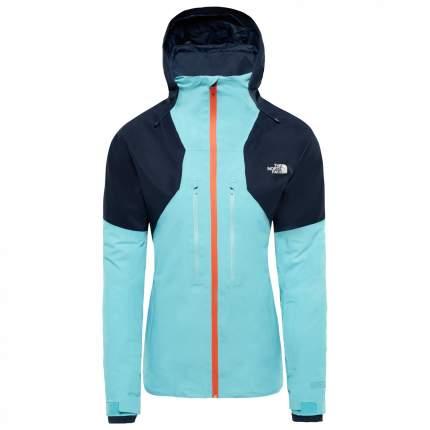 Спортивная куртка женская The North Face Powder Guide, arctic blue/urban navy, L