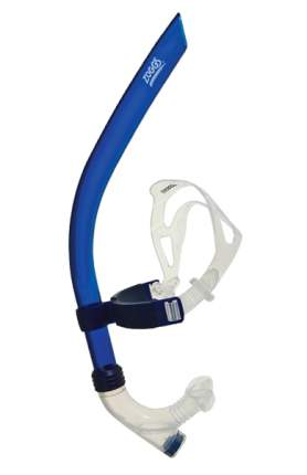 Трубка для плавания Zoggs Centre Line Snorkel 300689 синяя