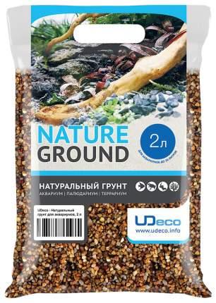 Грунт для аквариума UDeco River Yellow 3-4 мм 2 л