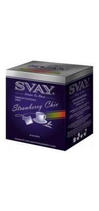 Чай гибискус Svay strawberry chic 20 пакетиков