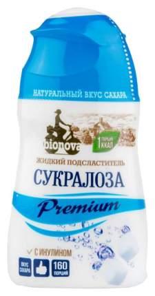 Подсластитель жидкий Bionova сукралоза premium с инулином 80 г