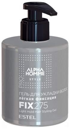 Гель для укладки Estel Professional Alpha Homme Pro легкая фиксация 275 мл