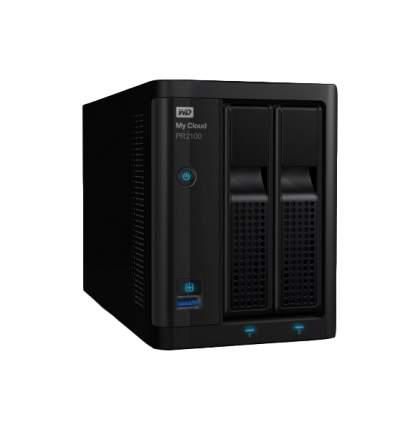 Сетевое хранилище данных WD My Cloud Pro PR2100 WDBVND0080JBK-EEUE