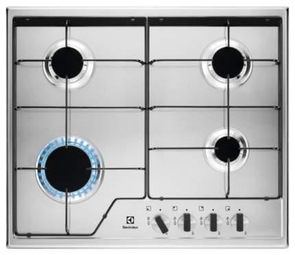 Встраиваемая варочная панель газовая Electrolux GPE262MX Silver