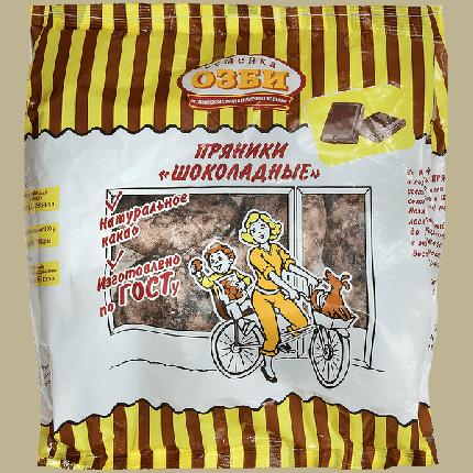 Пряники Семейка Озби шоколадные заварные 400 г
