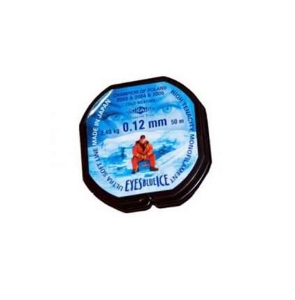Леска монофильная Mikado Eyes Blue Ice 0,12 мм, 50 м, 2,4 кг