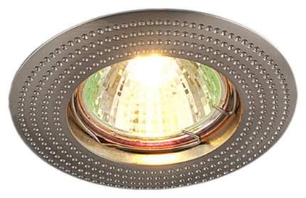 Встраиваемый точечный светильник Elektrostandard 601 MR16 SN a030748 Сатин/Никель