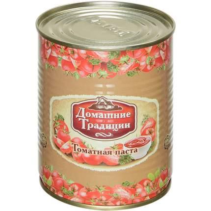 Томатная паста Домашние Традиции гост 380 г