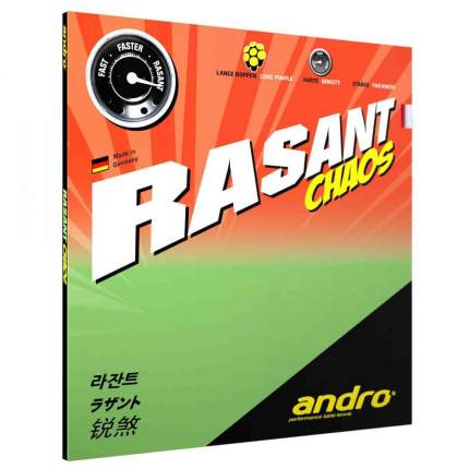 Накладка Andro Rasant Chaos OX black