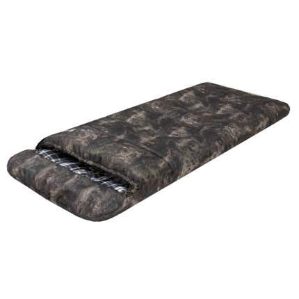 Спальный мешок Prival Берлога КМФ серый, левый