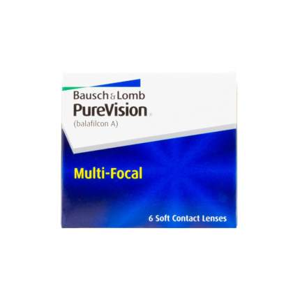 Контактные линзы PureVision Multi-Focal 6 линз low -1,25