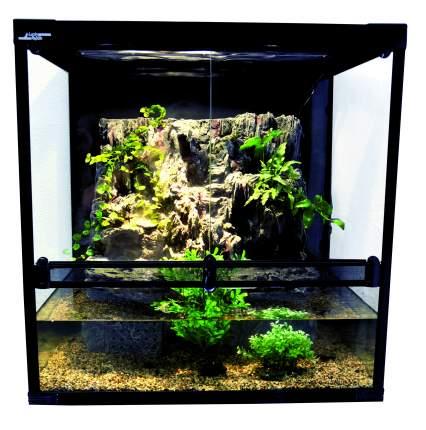 Палюдариум для рептилий Lucky Reptile Aqua-Tarrium, черный, 73,5 x 75 x 55 см