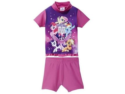 Костюм для купания My little Pony для девочки р.74-80 розовый