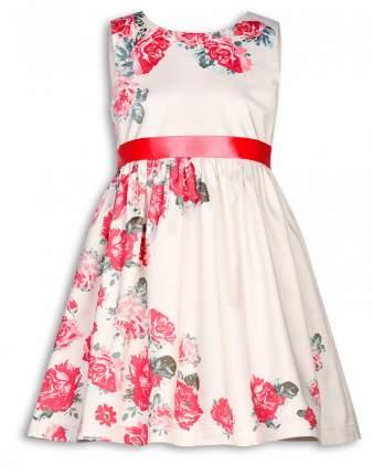 Платье для девочки Pelican GWDV3016 Молочный р. 104