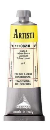 Масляная краска Maimeri Artisti 082 кадмий лимонный 60 мл