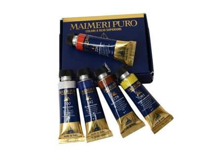 Масляные краски Maimeri Puro медиум4 цвета