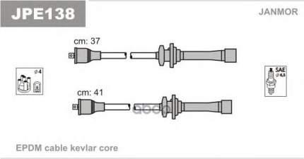 Комплект проводов зажигания JANMOR JPE138